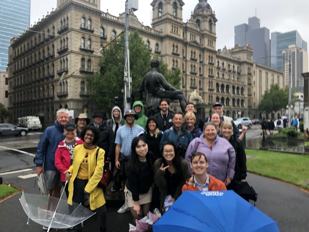 Kevin's Free Melbourne Walking Tour at 11am