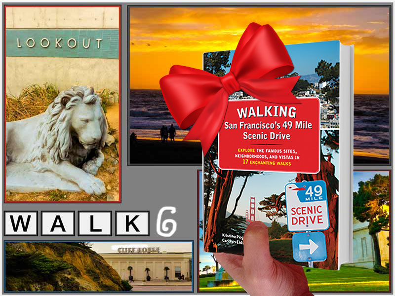 Holiday Gift — SF Walking Book - Walk 6
