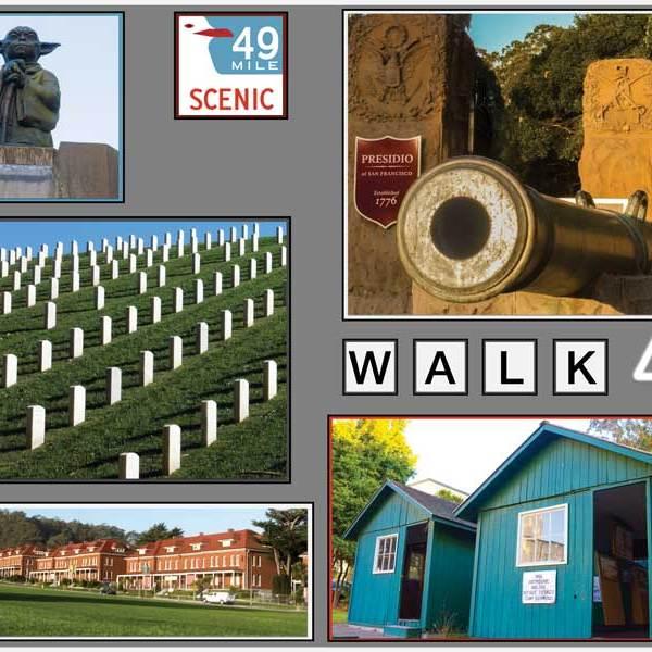 Author led San Francisco Walk #4: the Presidio