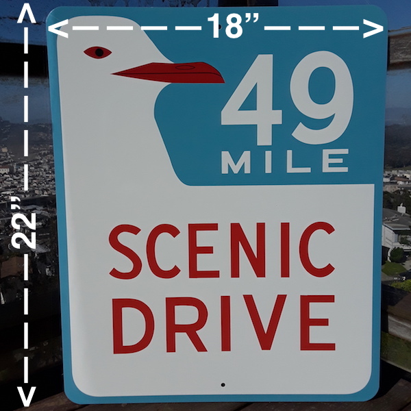 48 Mile Drive Street Sign for sale