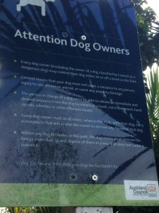 dog off leash sign - Copy
