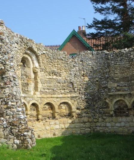 The ruined Leper Chapel