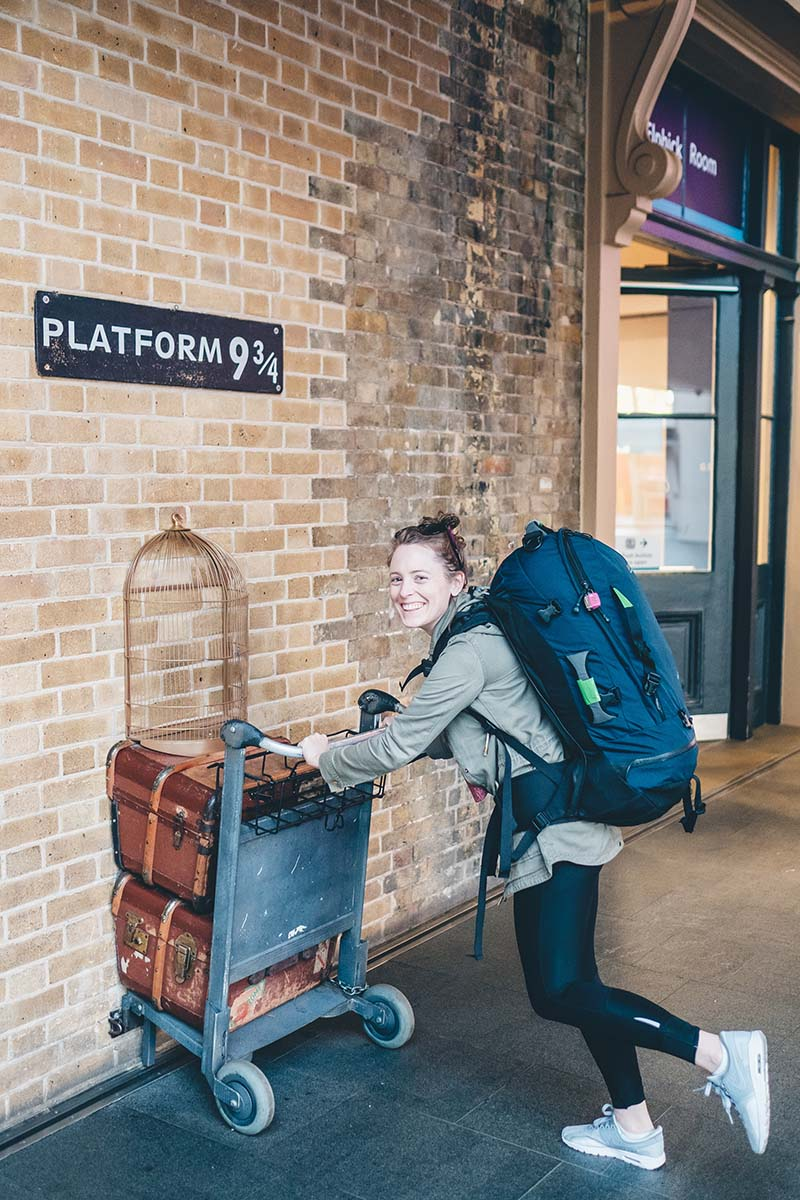 Anna Platform 9 and three quarters