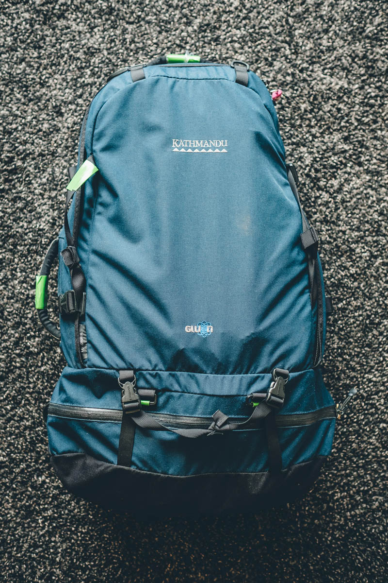 Annas large hiking pack for long term travel