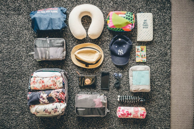 Annas womens clothing packing list for long term travel