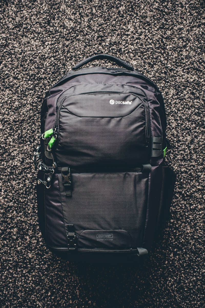 Pacsafe Camsafe V25 daily photography travel backpack