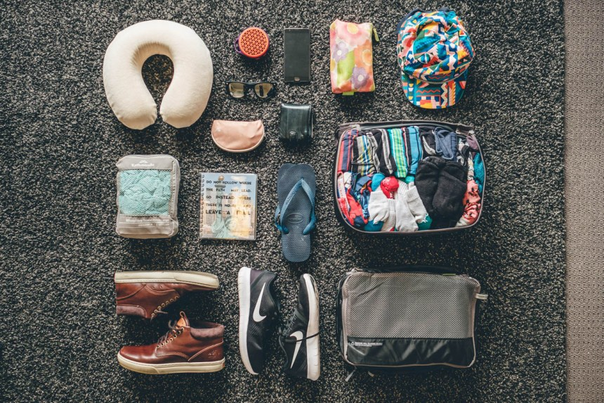 Tims mens clothing packing list for long term travel