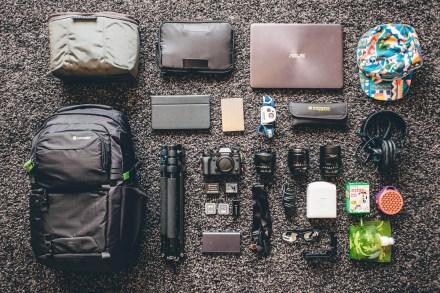 Tims tech gear packing list
