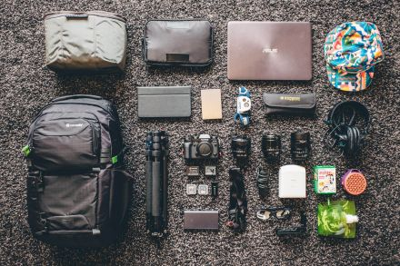 Tims tech gear packing list