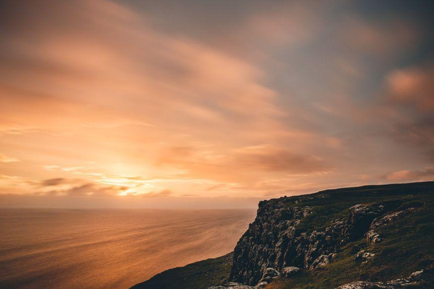 Isle of Skye Neist Point Sunste Long Exposure