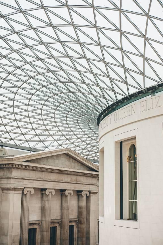 London British Museum Roof min