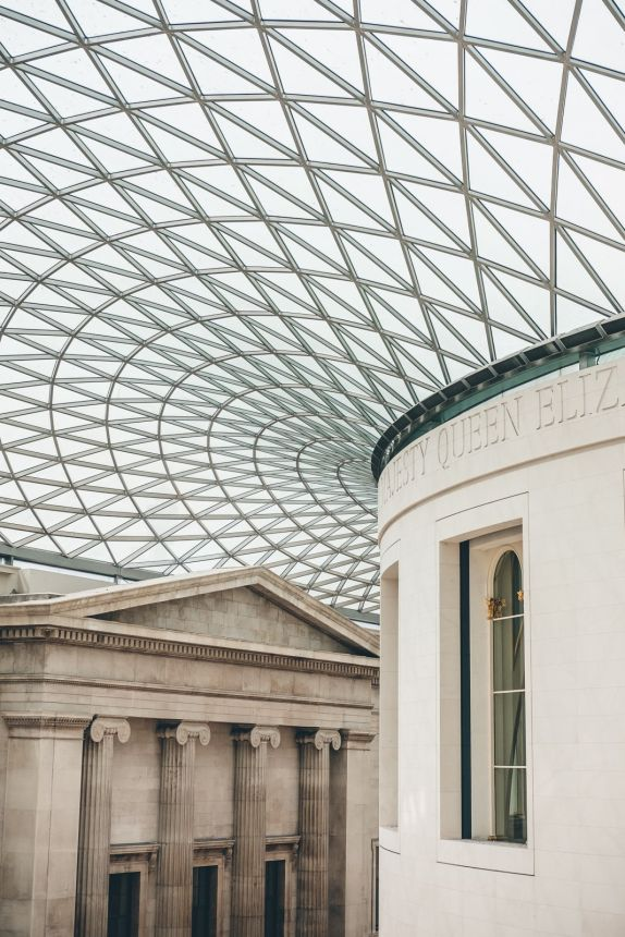 London British Museum Roof min