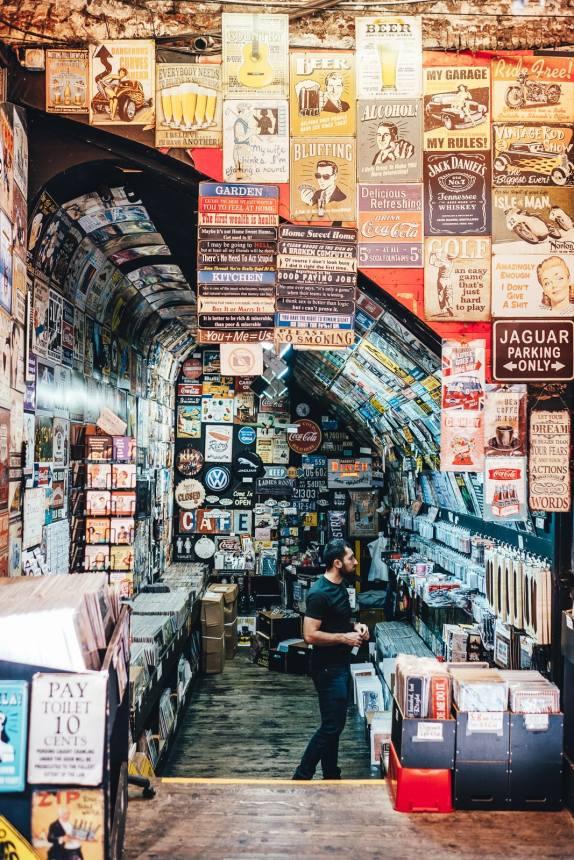 London Camden Market Signs min