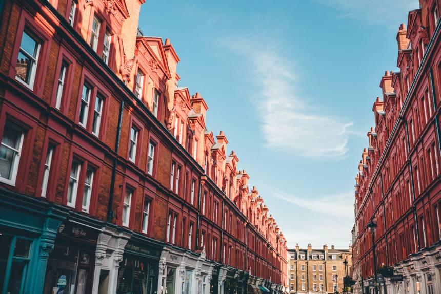 London Chiltern Street Red Buildings min