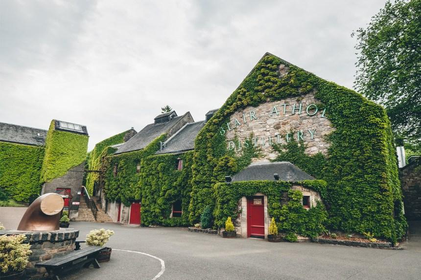 Scotland Blair Athol Distillery