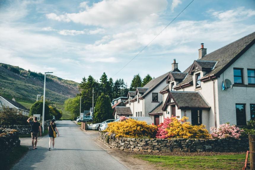 Scotland Fernan Crofter Cottage