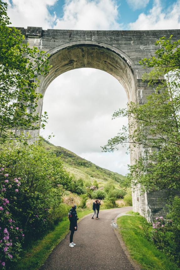 Scotland Fort William Anna Under Viaduct