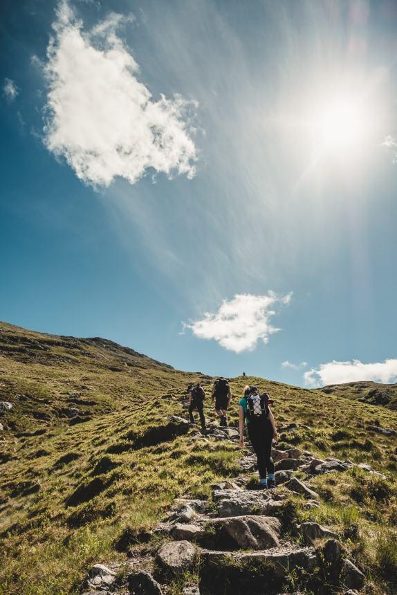 Scotland Glencoe Stair Hike