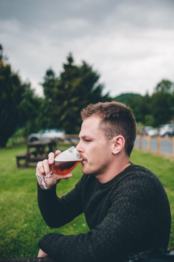 Scotland Loch Tummel Hotel Stu with Ale