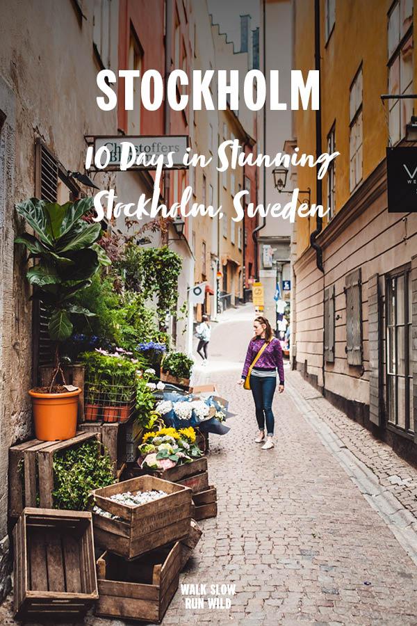 10 days in Stunning Stockholm Sweden