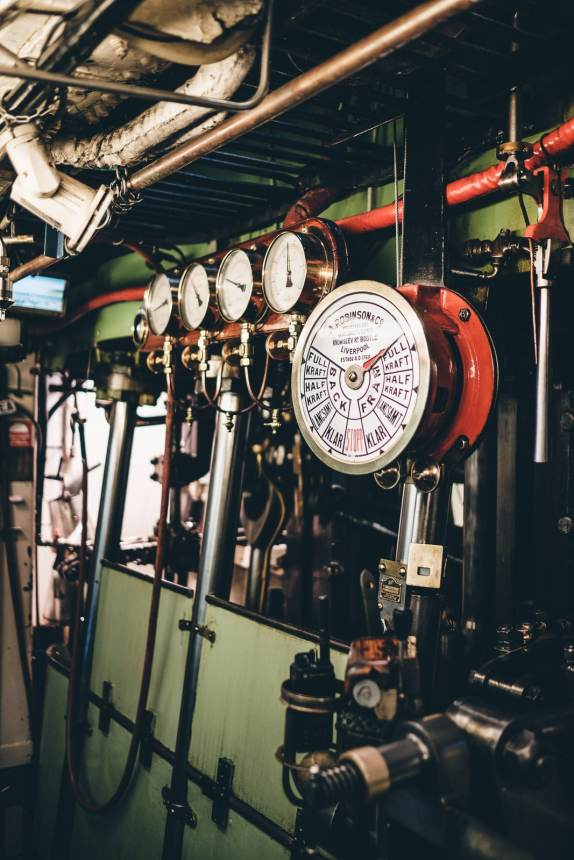 Stockholm Archipelago Engine Order Telegraph Dials