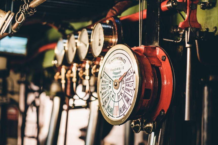 Stockholm Archipelago Engine Order Telegraph