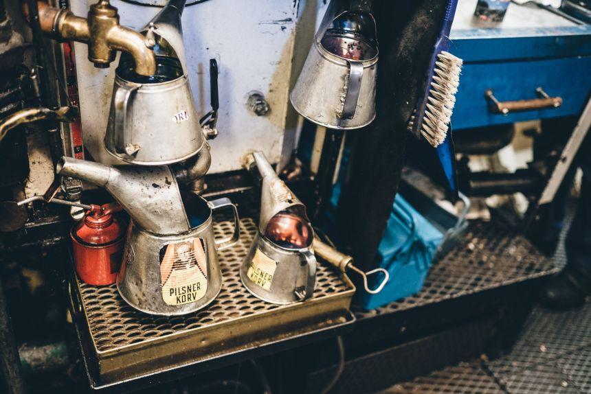 Stockholm Archipelago Engine Room Oil