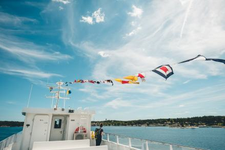 Stockholm Archipelago Ferry Flags