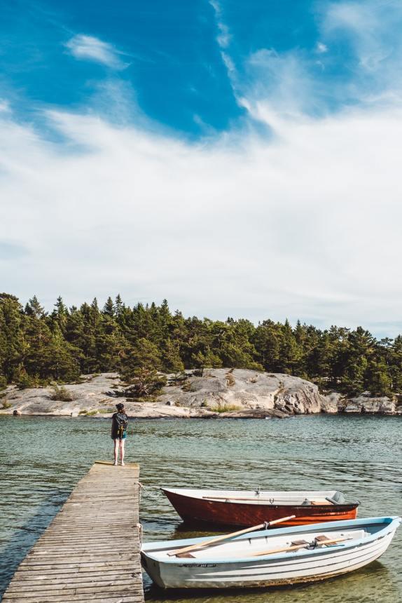 Stockholm Archipelago Fjardlang Jetty Anna