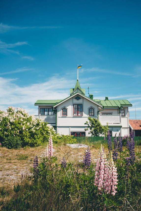 Stockholm Archipelago Sandhamn Green Roof House