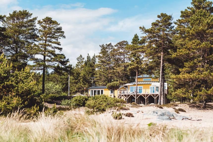 Stockholm Archipelago Sandhamn Yellow Beach House