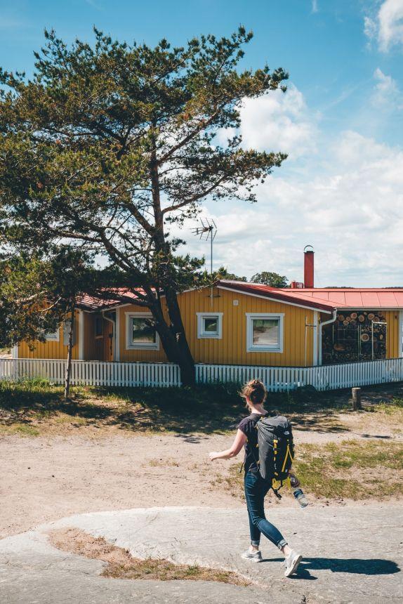 Stockholm Archipelago Sandhamn Yellow House
