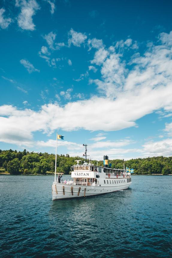 Stockholm Archipelago Summer Steamboat