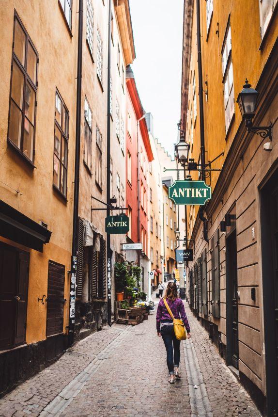 Stockholm Gamla Stan Antique