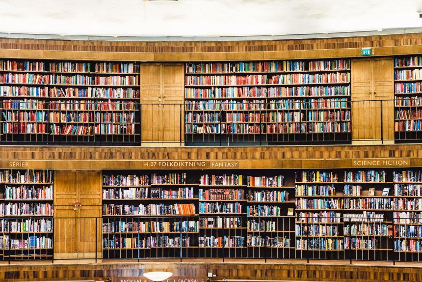 Stockholm Library Fantasy