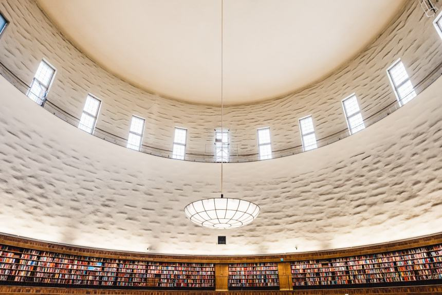 Stockholm Library Roof