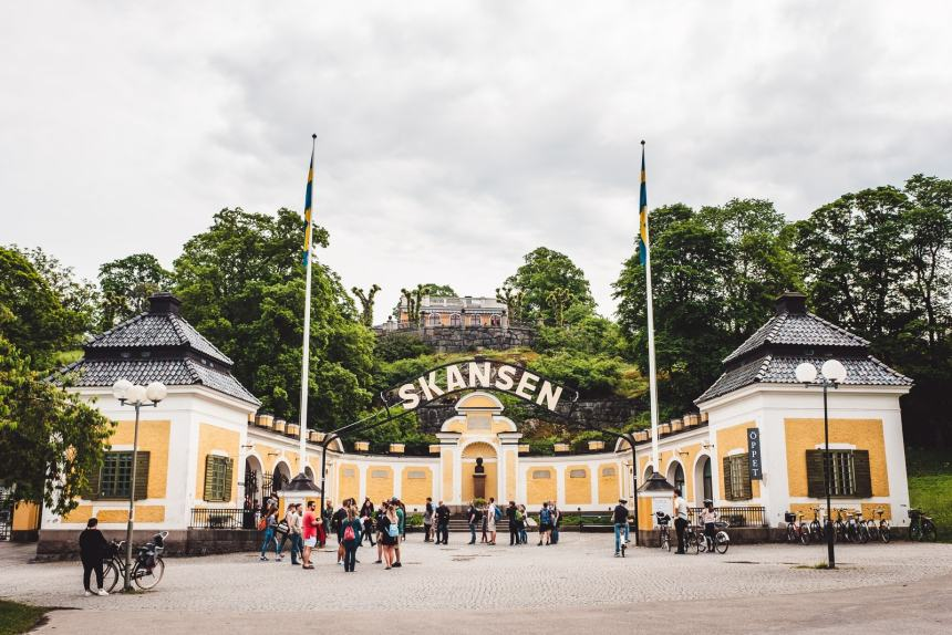 Stockholm Skansen Museum Entrance