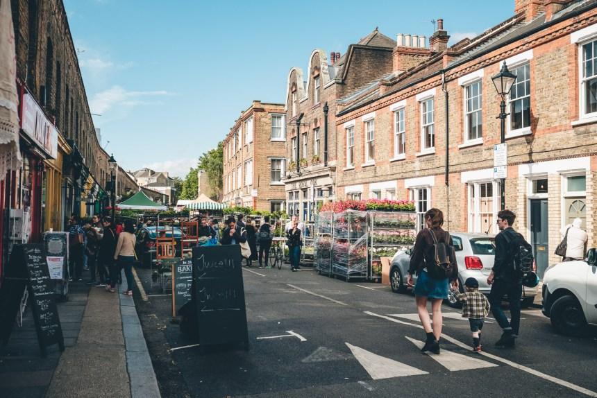 Columbia Road Flower Market London Early Start
