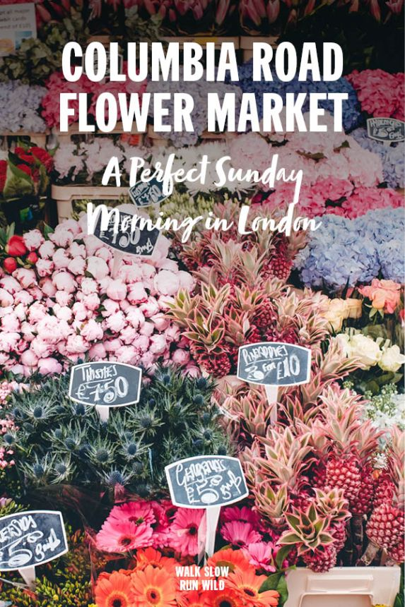 Columbia Road Flower Market London Pinterest
