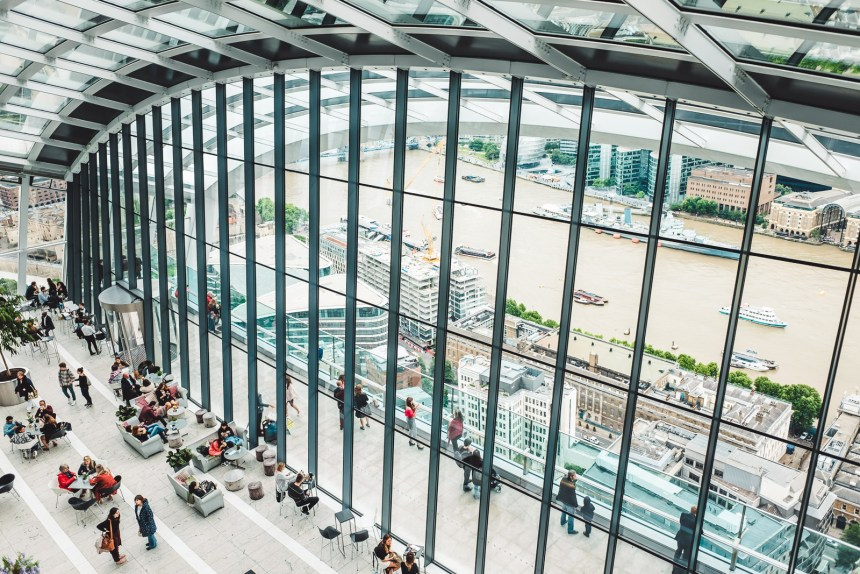 Sky Garden The Best Free Views of London Viewing Platform