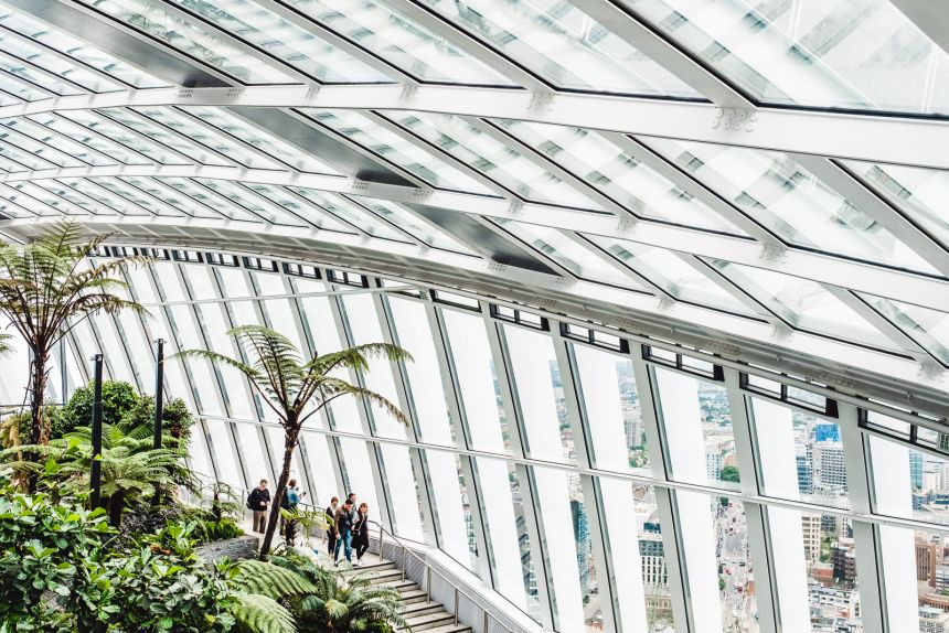Sky Garden The Best Free Views of London and Tropical Garden