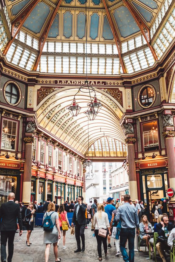 London Itinerary Leadenhall Market Amazing Central Hall