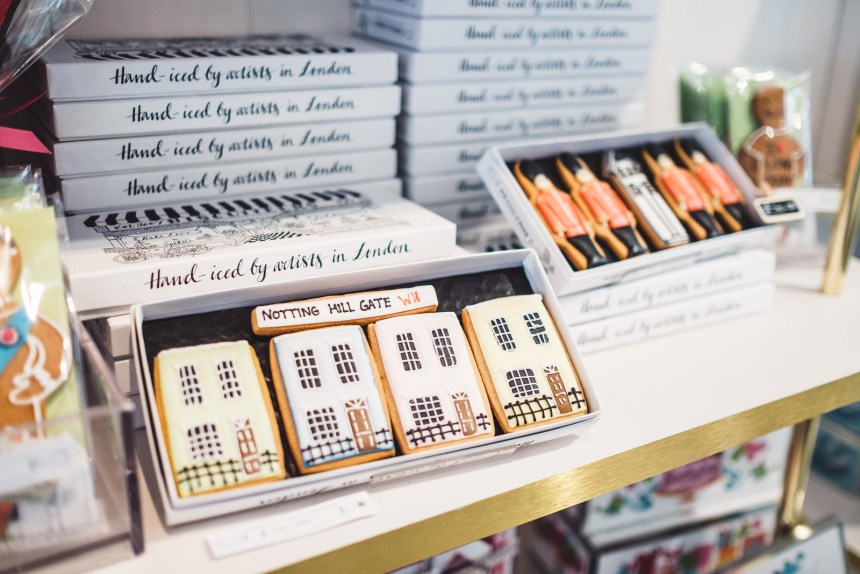 London Itinerary Notting Hill Biscuiteers Boutique Biscuit and Icing