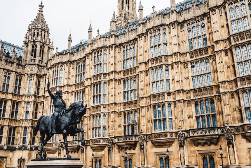 London Itinerary Palace of Westminster Details