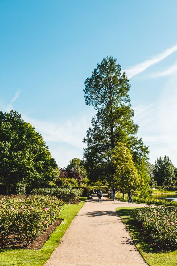 London Itinerary Regents Park great for a Peaceful Walk