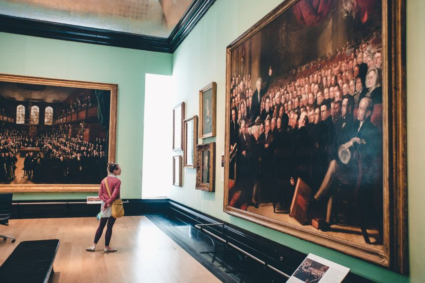London Itinerary The National Portrait Gallery