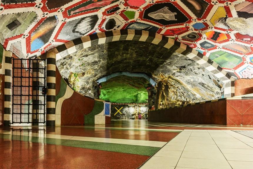 Stockholm Kungstradgarden Metro Station Flickr Arild 16575953560