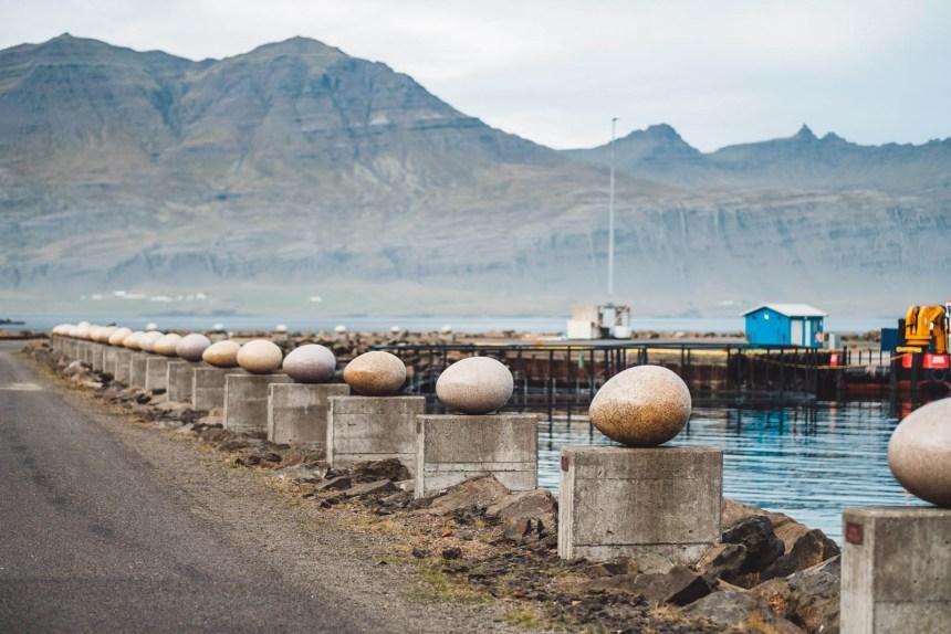 Iceland East Djupivogur Eggs Landscape
