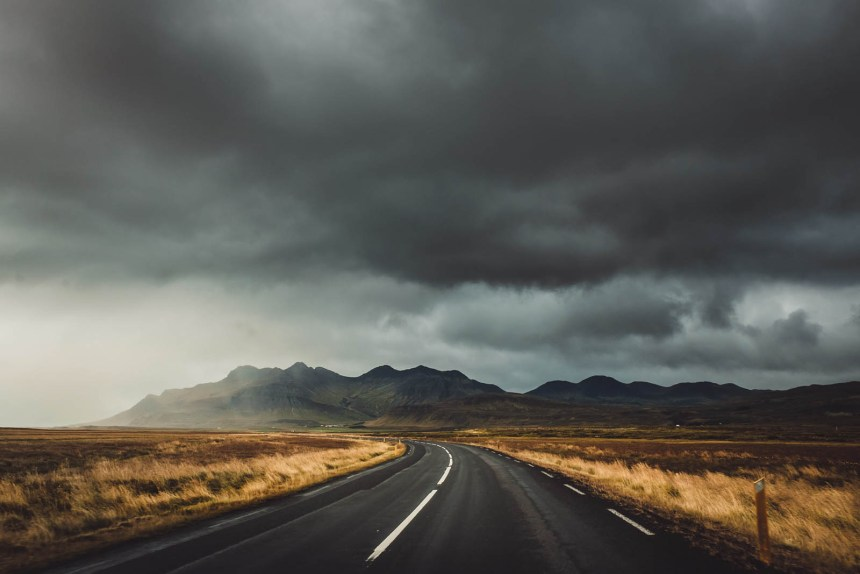 Iceland Roadtrip Epic Road Sky