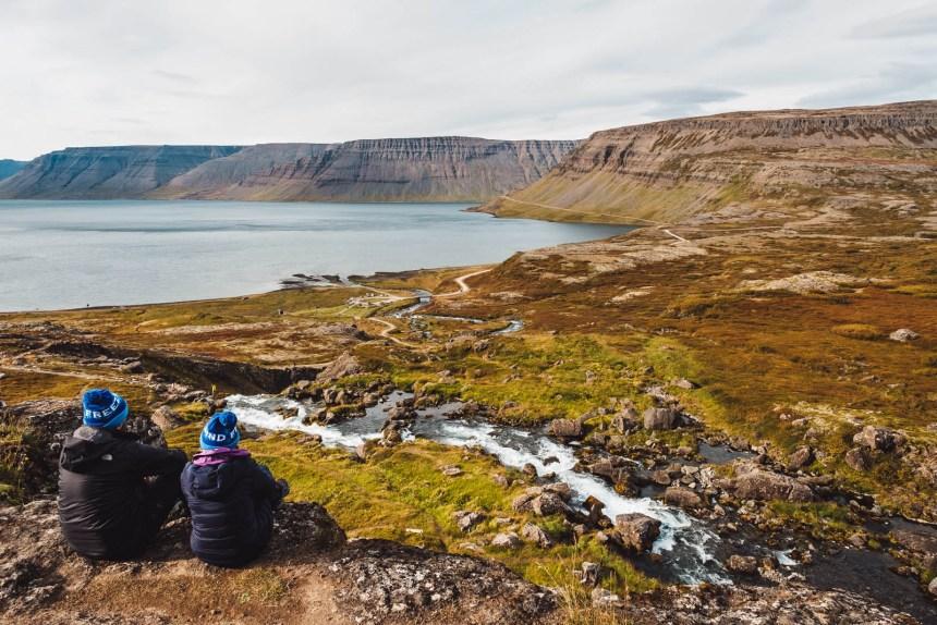 Iceland Westfjords Dynjandi Fjord View